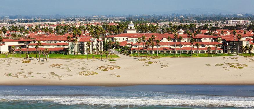 embassy-suites-mandalay-beach-ocean-aerial-view